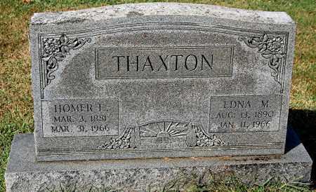 THAXTON, EDNA M - Gallia County, Ohio | EDNA M THAXTON - Ohio Gravestone Photos