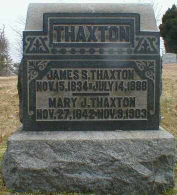 THAXTON, JAMES - Gallia County, Ohio   JAMES THAXTON - Ohio Gravestone Photos