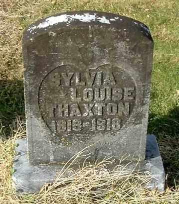 THAXTON, SYLVIA LOUISE - Gallia County, Ohio | SYLVIA LOUISE THAXTON - Ohio Gravestone Photos