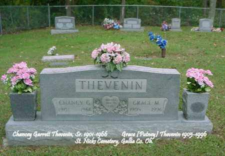 PUTNEY THEVENIN, GRACE MAE - Gallia County, Ohio | GRACE MAE PUTNEY THEVENIN - Ohio Gravestone Photos