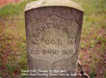 THEVENIN, FRANCIS COLLIN - Gallia County, Ohio | FRANCIS COLLIN THEVENIN - Ohio Gravestone Photos