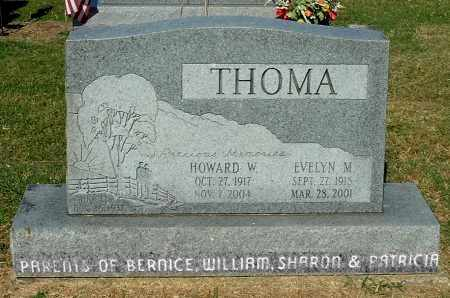 THOMA, HOWARD W - Gallia County, Ohio | HOWARD W THOMA - Ohio Gravestone Photos