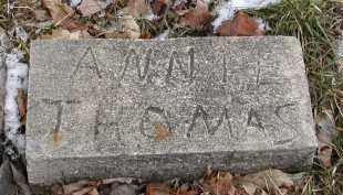 THOMAS, ANNIE - Gallia County, Ohio | ANNIE THOMAS - Ohio Gravestone Photos