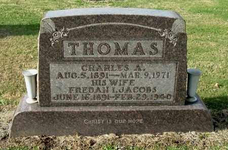 THOMAS, FREDAH I - Gallia County, Ohio | FREDAH I THOMAS - Ohio Gravestone Photos