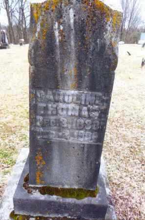 ARMSTRONG THOMAS, CAROLINE - Gallia County, Ohio | CAROLINE ARMSTRONG THOMAS - Ohio Gravestone Photos