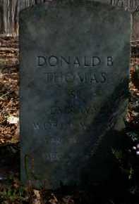 THOMAS, DONALD - Gallia County, Ohio   DONALD THOMAS - Ohio Gravestone Photos
