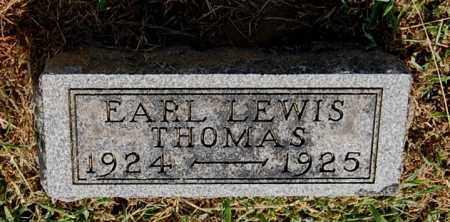 THOMAS, EARL LEWIS - Gallia County, Ohio | EARL LEWIS THOMAS - Ohio Gravestone Photos
