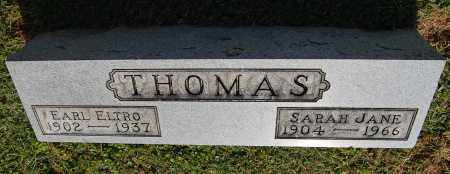 THOMAS, EARL ELTRO - Gallia County, Ohio | EARL ELTRO THOMAS - Ohio Gravestone Photos