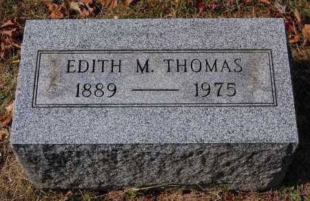 MULFORD THOMAS, EDITH M - Gallia County, Ohio | EDITH M MULFORD THOMAS - Ohio Gravestone Photos