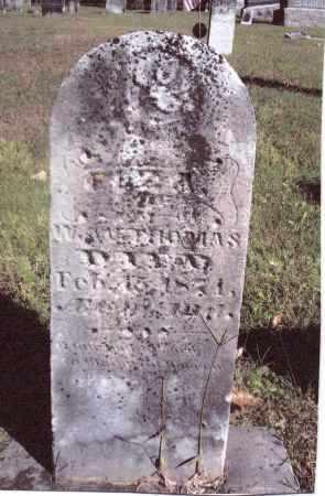 THOMAS, ELIZA - Gallia County, Ohio   ELIZA THOMAS - Ohio Gravestone Photos