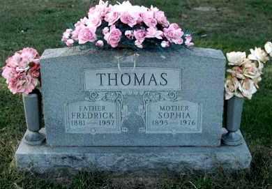 THOMAS, FREDRICK - Gallia County, Ohio   FREDRICK THOMAS - Ohio Gravestone Photos
