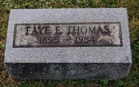 THOMAS, FAYE E - Gallia County, Ohio | FAYE E THOMAS - Ohio Gravestone Photos