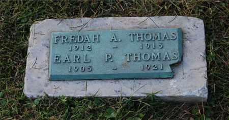 THOMAS, FREDAH A - Gallia County, Ohio   FREDAH A THOMAS - Ohio Gravestone Photos