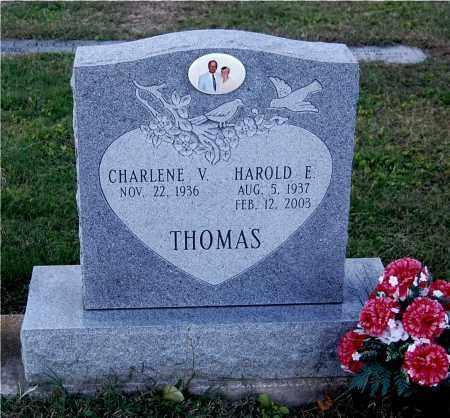 THOMAS, HAROLD E - Gallia County, Ohio | HAROLD E THOMAS - Ohio Gravestone Photos