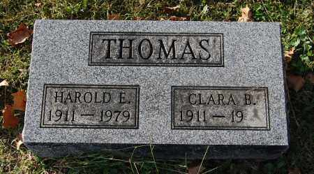 THOMAS, CLARA B - Gallia County, Ohio | CLARA B THOMAS - Ohio Gravestone Photos