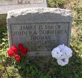 THOMAS, JAMES DALE - Gallia County, Ohio | JAMES DALE THOMAS - Ohio Gravestone Photos