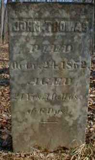 THOMAS, JOHN - Gallia County, Ohio   JOHN THOMAS - Ohio Gravestone Photos