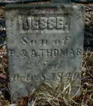 THOMAS, JESSE - Gallia County, Ohio   JESSE THOMAS - Ohio Gravestone Photos