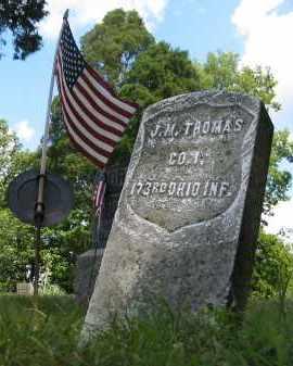 THOMAS, J.M. - Gallia County, Ohio | J.M. THOMAS - Ohio Gravestone Photos