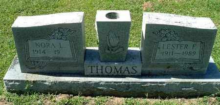 THOMAS, LESTER F - Gallia County, Ohio | LESTER F THOMAS - Ohio Gravestone Photos