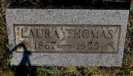 THOMAS, LAURA - Gallia County, Ohio | LAURA THOMAS - Ohio Gravestone Photos