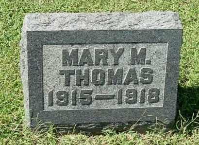 THOMAS, MARY MARIE - Gallia County, Ohio   MARY MARIE THOMAS - Ohio Gravestone Photos
