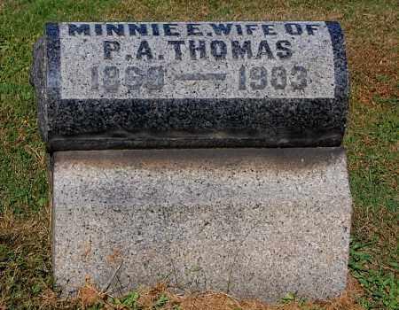 THOMAS, MINNIE E - Gallia County, Ohio | MINNIE E THOMAS - Ohio Gravestone Photos