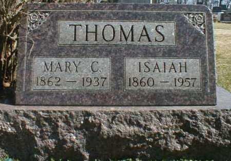 THOMAS, ISAIAH - Gallia County, Ohio | ISAIAH THOMAS - Ohio Gravestone Photos