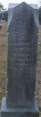 THOMAS, MASSIE - Gallia County, Ohio | MASSIE THOMAS - Ohio Gravestone Photos