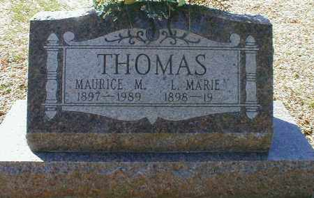 THOMAS, MAURICE - Gallia County, Ohio | MAURICE THOMAS - Ohio Gravestone Photos