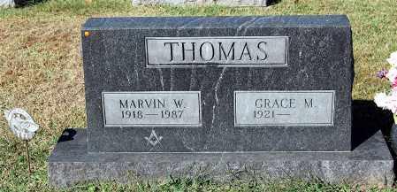 THOMAS, MARVIN W - Gallia County, Ohio | MARVIN W THOMAS - Ohio Gravestone Photos