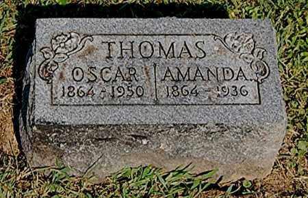 DARST THOMAS, AMANDA - Gallia County, Ohio | AMANDA DARST THOMAS - Ohio Gravestone Photos