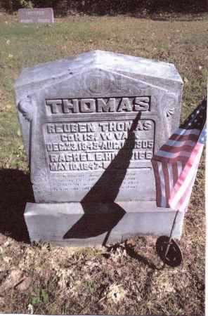 THOMAS, REUBEN - Gallia County, Ohio | REUBEN THOMAS - Ohio Gravestone Photos