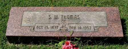 THOMAS, S. W. - Gallia County, Ohio | S. W. THOMAS - Ohio Gravestone Photos