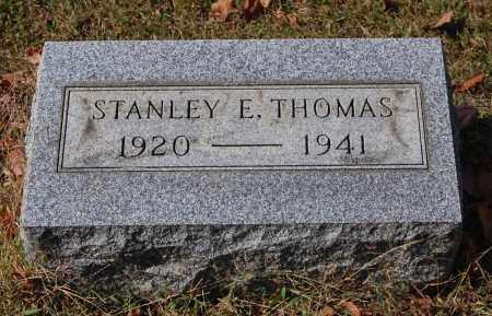 THOMAS, STANLEY E - Gallia County, Ohio | STANLEY E THOMAS - Ohio Gravestone Photos