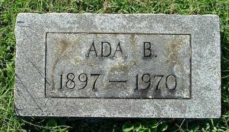 THOMPSON, ADA B - Gallia County, Ohio | ADA B THOMPSON - Ohio Gravestone Photos