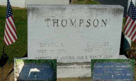 THOMPSON, DANIEL E - Gallia County, Ohio | DANIEL E THOMPSON - Ohio Gravestone Photos
