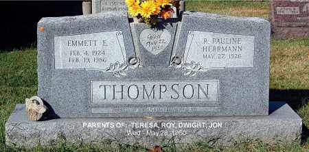 HERRMANN THOMPSON, PAULINE - Gallia County, Ohio | PAULINE HERRMANN THOMPSON - Ohio Gravestone Photos