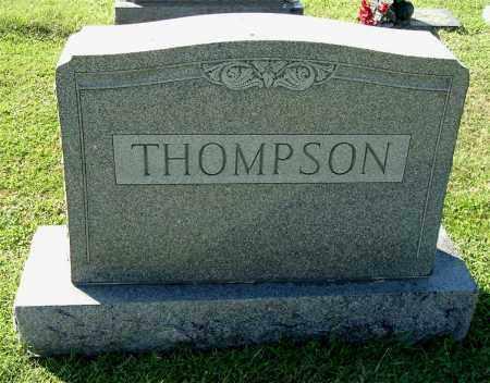THOMPSON, FAMILY MONUMENT - Gallia County, Ohio   FAMILY MONUMENT THOMPSON - Ohio Gravestone Photos