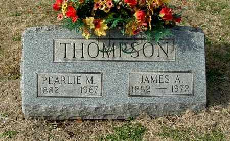 THOMPSON, JAMES A - Gallia County, Ohio | JAMES A THOMPSON - Ohio Gravestone Photos