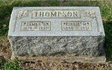 THOMPSON, LIBBIE MAY - Gallia County, Ohio | LIBBIE MAY THOMPSON - Ohio Gravestone Photos