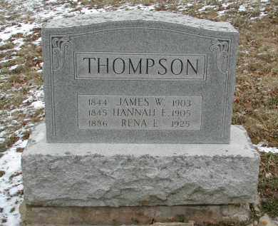 THOMPSON, HANNAH E. - Gallia County, Ohio | HANNAH E. THOMPSON - Ohio Gravestone Photos
