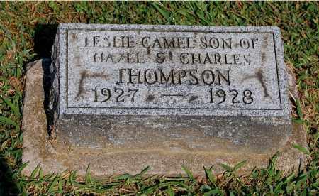 THOMPSON, LESLIE CAMEL - Gallia County, Ohio | LESLIE CAMEL THOMPSON - Ohio Gravestone Photos