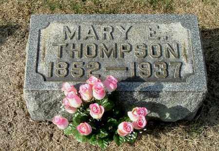 SISSON THOMPSON, MARY E - Gallia County, Ohio | MARY E SISSON THOMPSON - Ohio Gravestone Photos