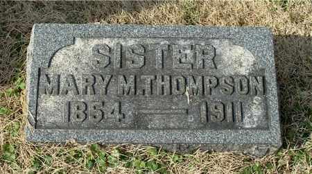 THOMPSON, MARY M - Gallia County, Ohio | MARY M THOMPSON - Ohio Gravestone Photos