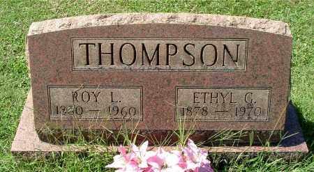 COUGHENOUR THOMPSON, ETHEL GENEVIEVE - Gallia County, Ohio | ETHEL GENEVIEVE COUGHENOUR THOMPSON - Ohio Gravestone Photos