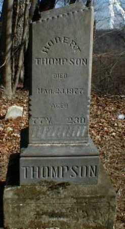 THOMPSON, ROBERT - Gallia County, Ohio | ROBERT THOMPSON - Ohio Gravestone Photos