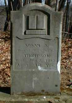 THOMPSON, SUSAN - Gallia County, Ohio | SUSAN THOMPSON - Ohio Gravestone Photos