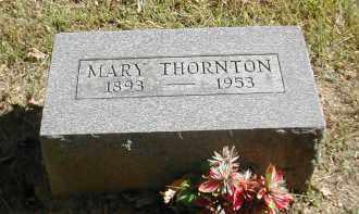 THORNTON, MARY - Gallia County, Ohio | MARY THORNTON - Ohio Gravestone Photos