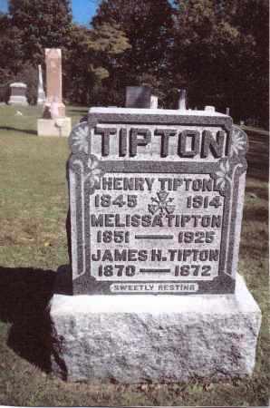 TIPTON, HENRY - Gallia County, Ohio | HENRY TIPTON - Ohio Gravestone Photos